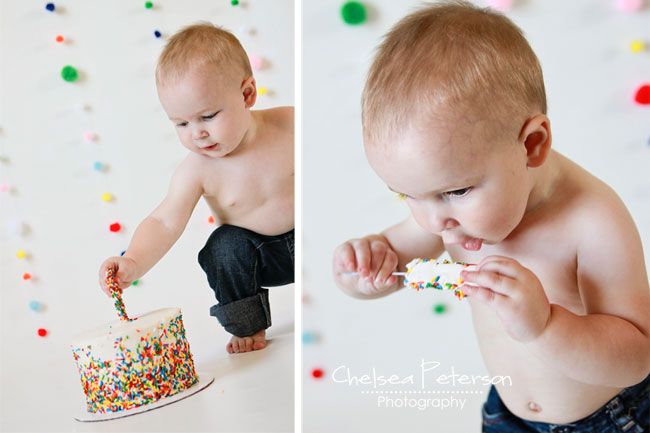 rainbow cake smash2 baby boy smash cake on birthday cakes in slc utah
