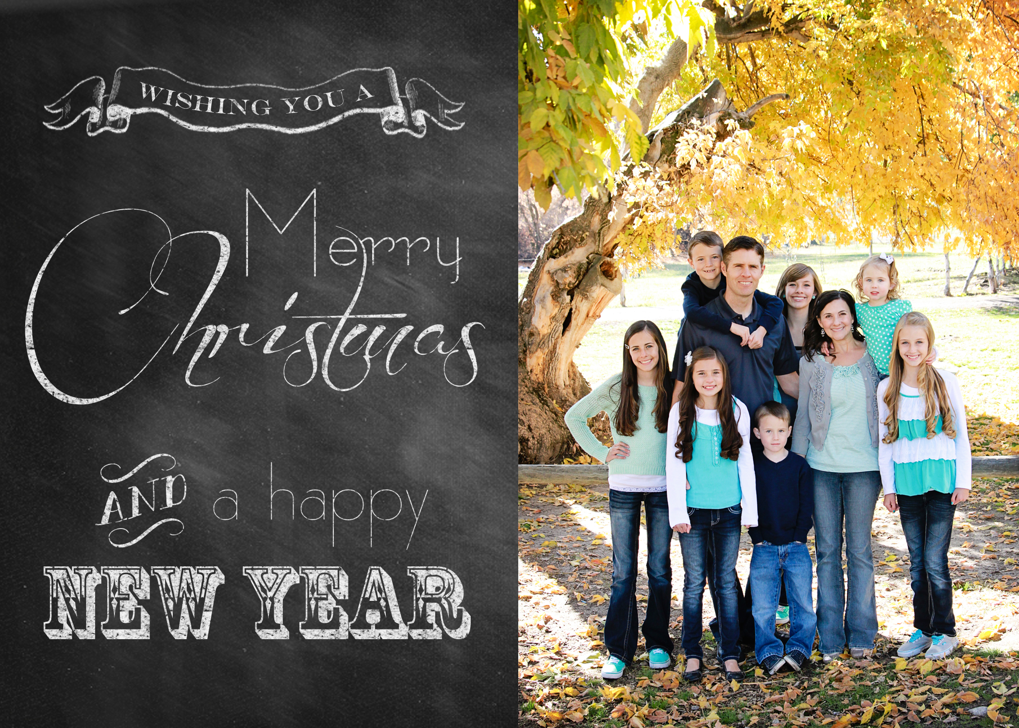 Christmas Photo Card Templates Merry Christmas And Happy New Year - Free christmas card templates for photographers